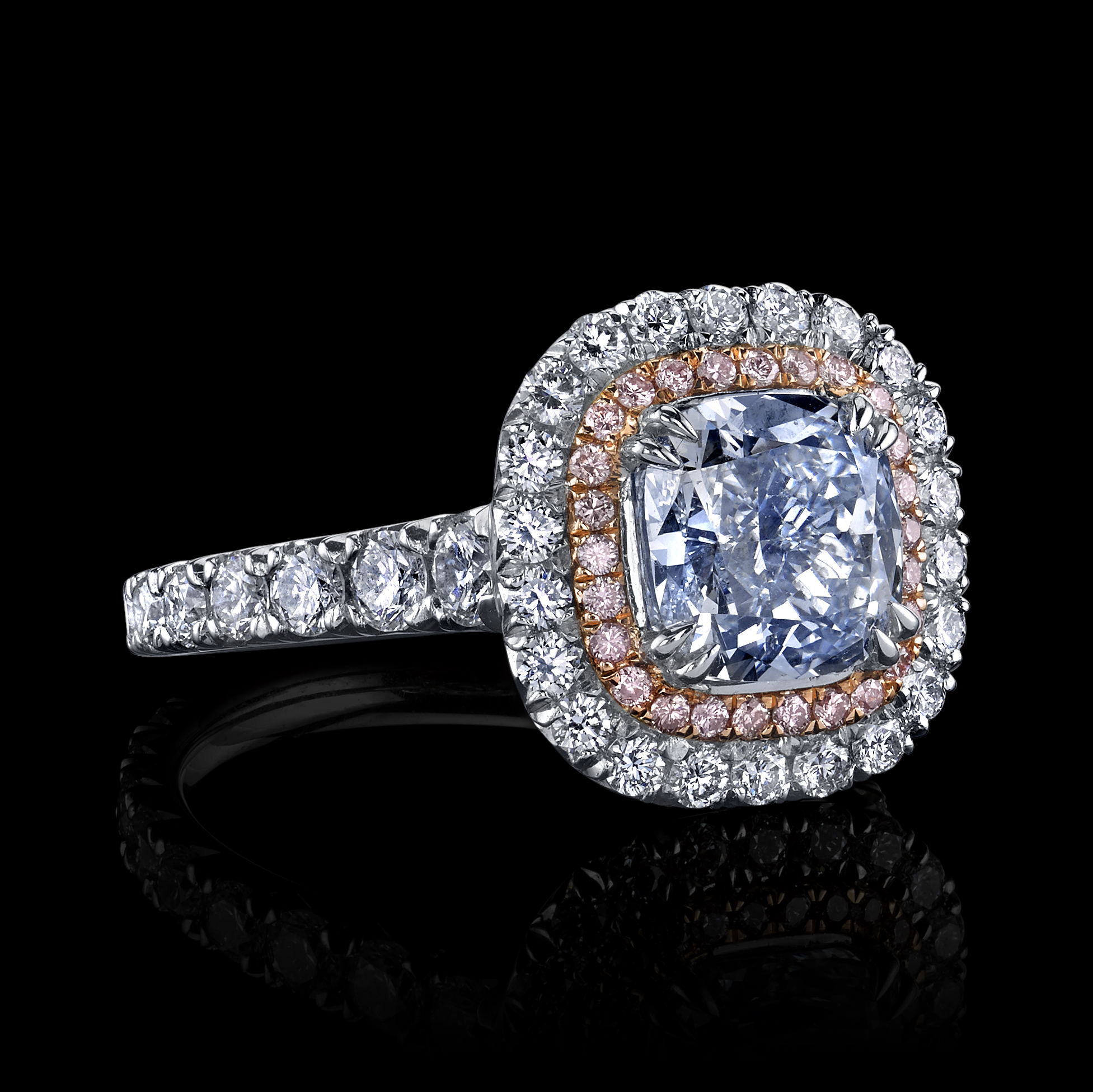 sterling cubic white green ring zirconia rings micropave in wedding plated over micropav silver and p gold tourmaline